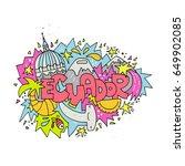 hand drawn illustration of...   Shutterstock .eps vector #649902085