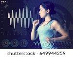 sports engineering concept....   Shutterstock . vector #649944259