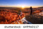 Sunrise In Bryce Canyon...