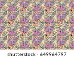 motley illustration. the...   Shutterstock . vector #649964797