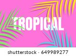 tropical background with...