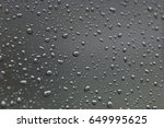 Water Drops.  Water Drops On...