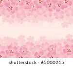 spring flower background | Shutterstock .eps vector #65000215