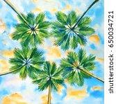watercolor illustration of...   Shutterstock . vector #650034721