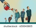 business incubator  startup.... | Shutterstock .eps vector #650043805