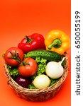 vegetarianism concept ...   Shutterstock . vector #650055199
