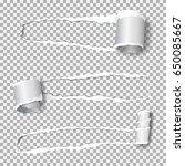 set of  realistic vector torn...   Shutterstock .eps vector #650085667