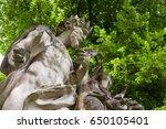 17 century sculpture in a...   Shutterstock . vector #650105401