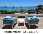 Inviting Outdoor Terrace With...