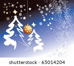christmas tree | Shutterstock .eps vector #65014204
