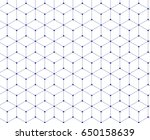 modern stylish texture.... | Shutterstock .eps vector #650158639