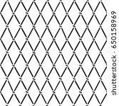 hand drawn argyle pattern....   Shutterstock .eps vector #650158969