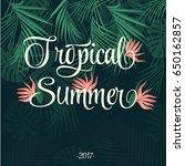 summer background | Shutterstock .eps vector #650162857