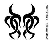 tattoos ideas designs   tribal... | Shutterstock .eps vector #650168287