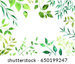 hand drawn background with... | Shutterstock . vector #650199247