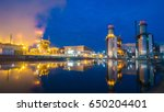 combined cycle power plant | Shutterstock . vector #650204401