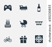vector illustration set of... | Shutterstock .eps vector #650230855