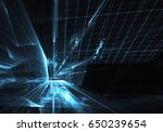 computer generated abstract... | Shutterstock . vector #650239654
