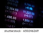 forex market background ... | Shutterstock . vector #650246269