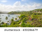 antigua  caribbean islands ... | Shutterstock . vector #650286679