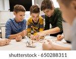 education  children  technology ... | Shutterstock . vector #650288311