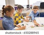 education  children  technology ... | Shutterstock . vector #650288965