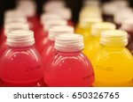 beverage bottles | Shutterstock . vector #650326765