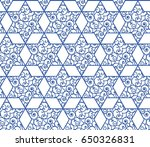 elegant seamless pattern with... | Shutterstock .eps vector #650326831