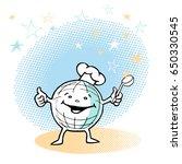 vector sketches of cartoon... | Shutterstock .eps vector #650330545