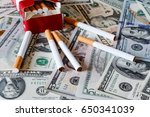 Concept Of Smoking Cost....