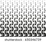 black   white geometric pattern | Shutterstock .eps vector #650346739