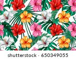Vector Tropical Leaves And...