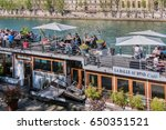 paris  france   april 9  2017 ... | Shutterstock . vector #650351521