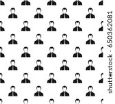 businessman pattern seamless in ... | Shutterstock . vector #650362081