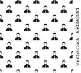 businessman pattern seamless in ... | Shutterstock . vector #650362081