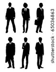 business people | Shutterstock . vector #65036863
