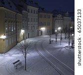 Kampa At Night  Prague  Czech...