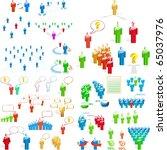 team business concept. great... | Shutterstock .eps vector #65037976