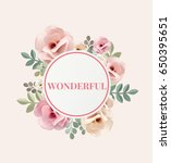 illustration of wonderful... | Shutterstock . vector #650395651
