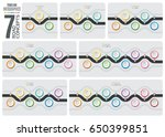 set of navigation map... | Shutterstock .eps vector #650399851