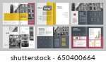 design annual report vector... | Shutterstock .eps vector #650400664
