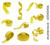 Set Of Measuring Tapes Isolate...