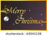 christmas | Shutterstock . vector #65042158