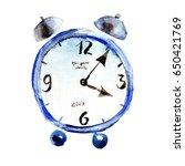 watercolor illustration of... | Shutterstock . vector #650421769