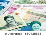 set of iranian currencies | Shutterstock . vector #650428585