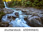 Mountain Forest River Stream...