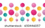 vector fun colorful birthday... | Shutterstock .eps vector #650446057