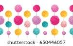 vector fun colorful birthday... | Shutterstock .eps vector #650446057