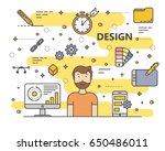 design concept vector...   Shutterstock .eps vector #650486011