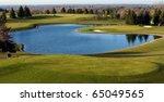 Scenic View Of Beautiful Golf...